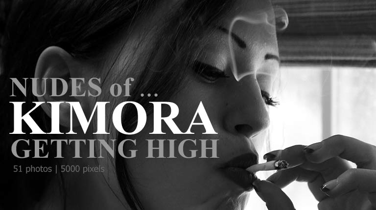 Michelle7.com April 2012 Cover - Nudes of Kimora Getting High!