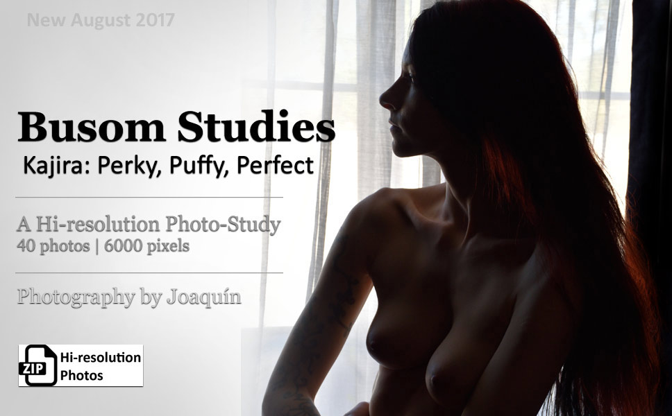 Busom Studies - Kajira is Perky, Puffy, and Perfect