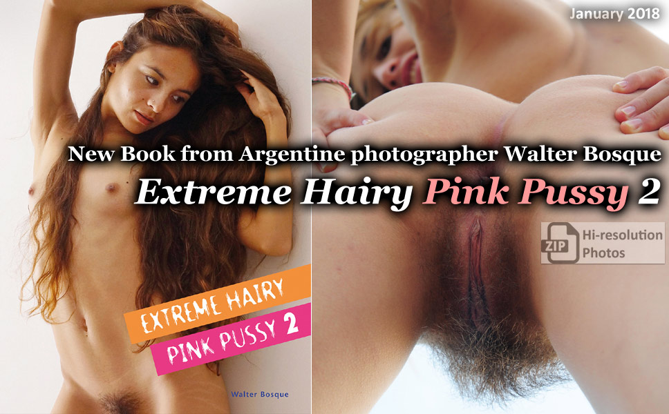 Extreme Hairy Pink Pussy 2